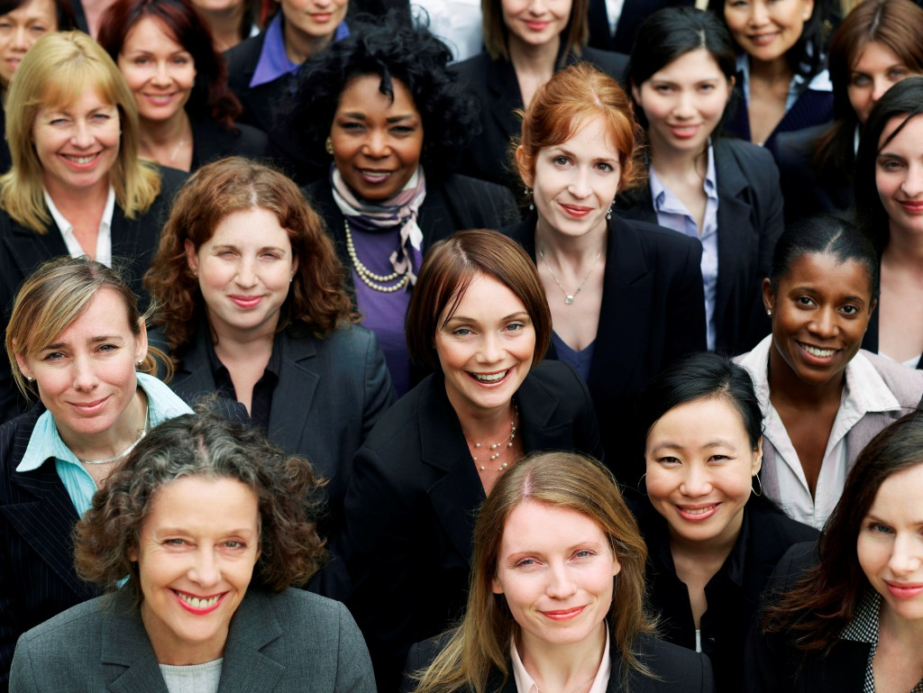 sisters in search how participating in job clubs improves your group of businesswomen small