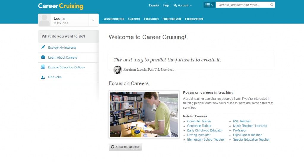 career cruising – Baton Rouge Career Center